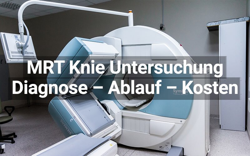 MRT Knie Untersuchung