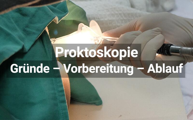 Proktoskopie