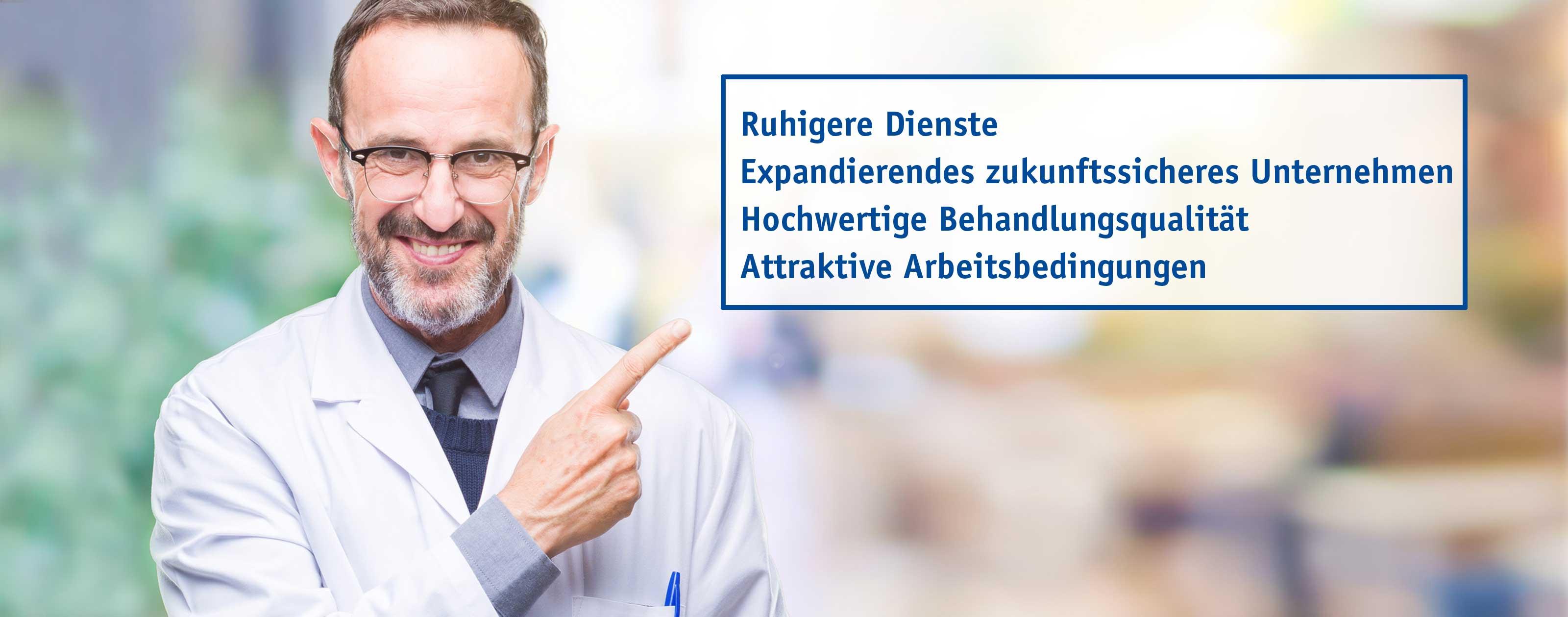 Meinestadt Arzt NEXUS Desktop