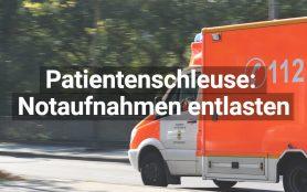 Patientenschleuse