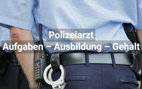 Polizeiarzt: Aufgaben - Ausbildung - Gehalt