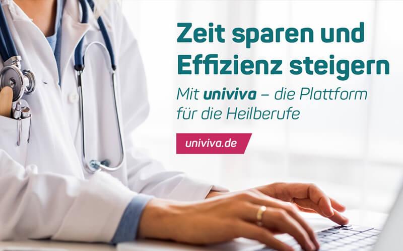 univiva – die Plattform für die Heilberufe!
