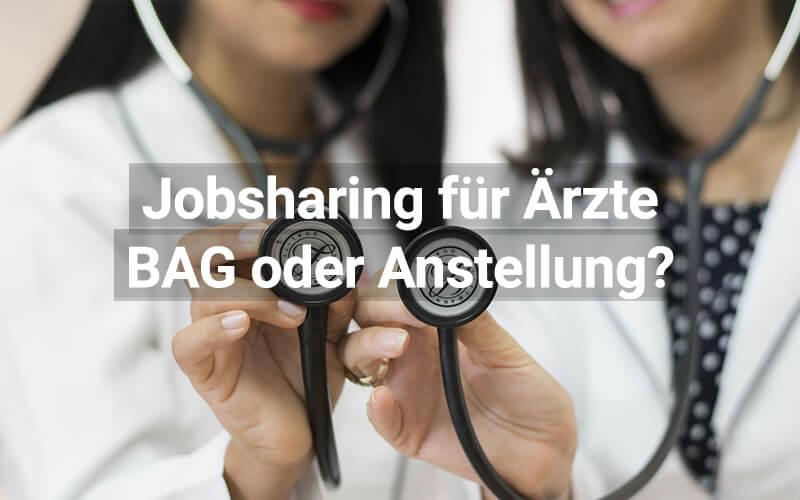 Jobsharing für Ärzte