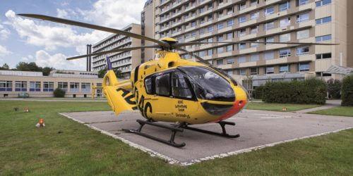 Klinikum Landshut Helikopter