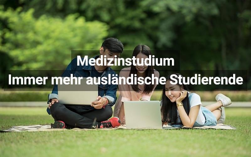 Medizinstudium: Immer mehr Studierende aus dem Ausland