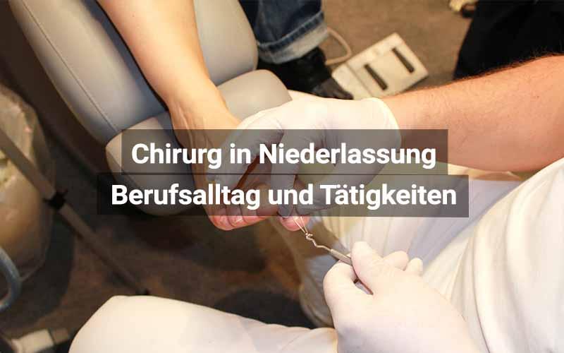 Chirurg Niederlassung