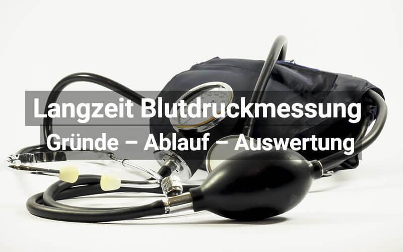 Langzeit Blutdruckmessung