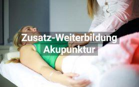 Zusatz Weiterbildung Akupunktur