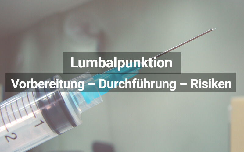 Lumbalpunktion