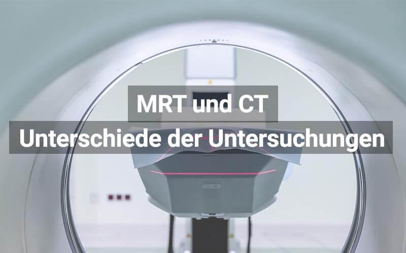 MRT Und CT