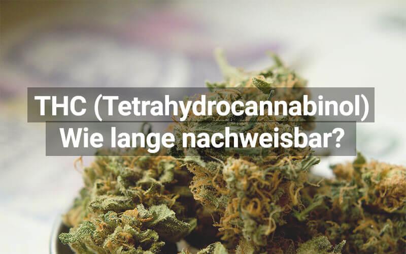 THC Nachweisbarkeit