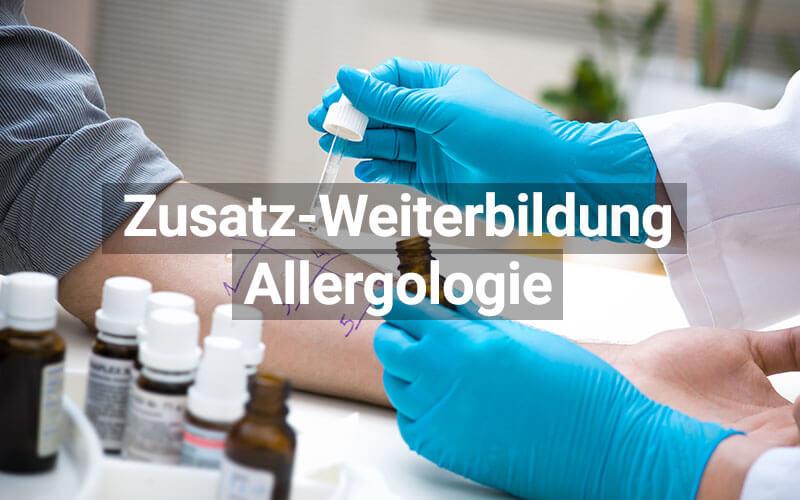 Zusatz Weiterbildung Allergologie