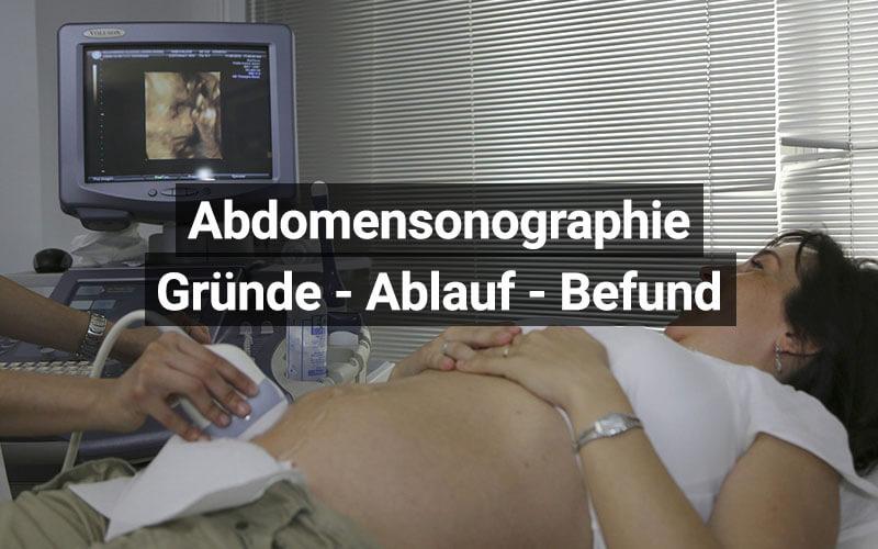 Abdomensonographie