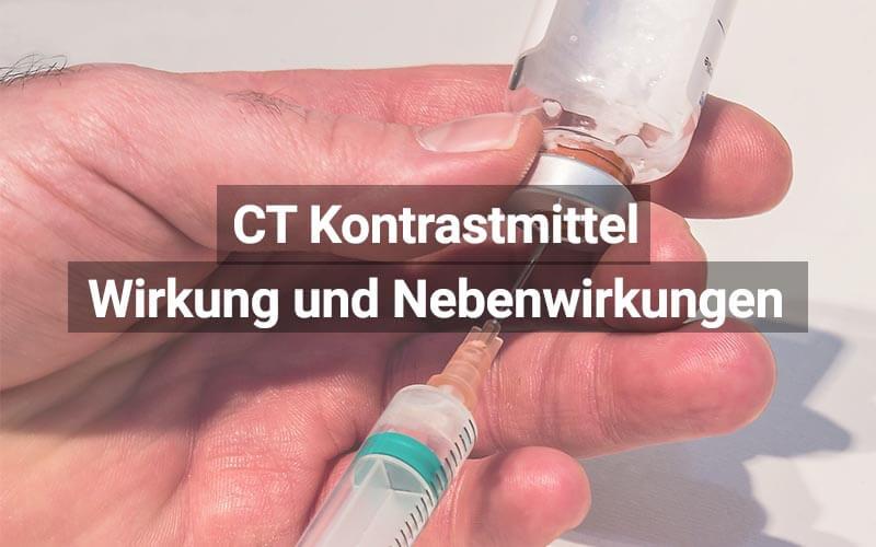 CT Kontrastmittel
