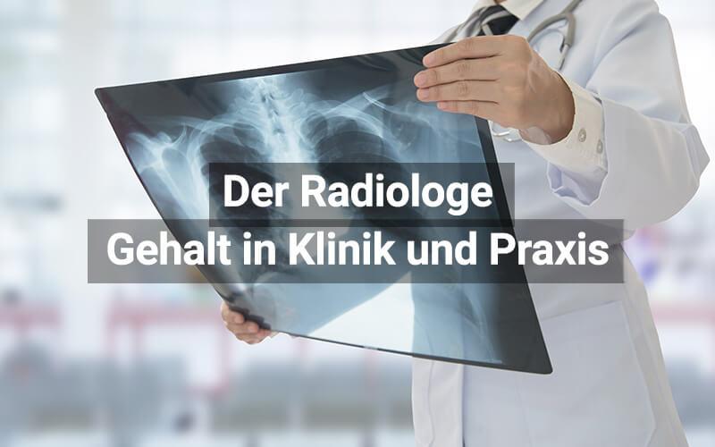 Gehalt Radiologe