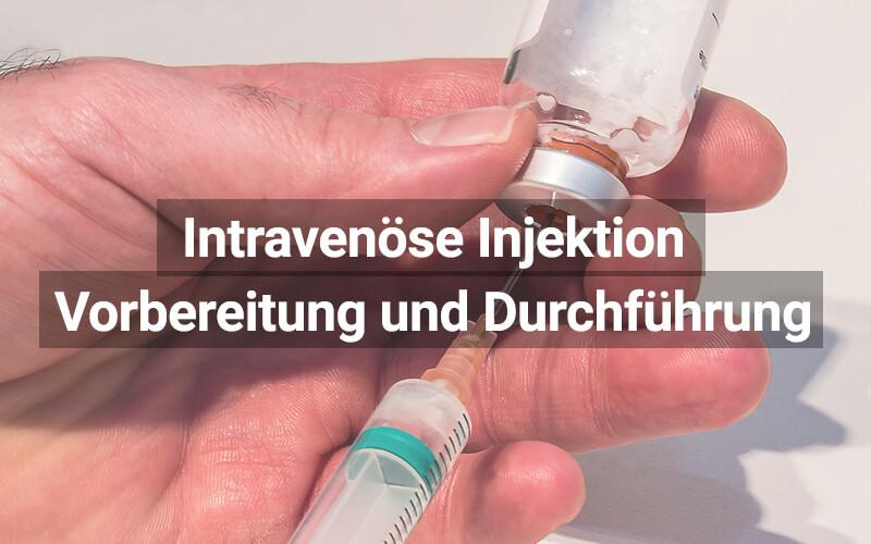 Intravenöse Injektion