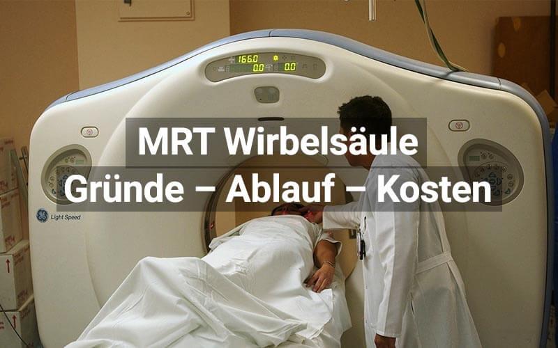 MRT Wirbelsäule