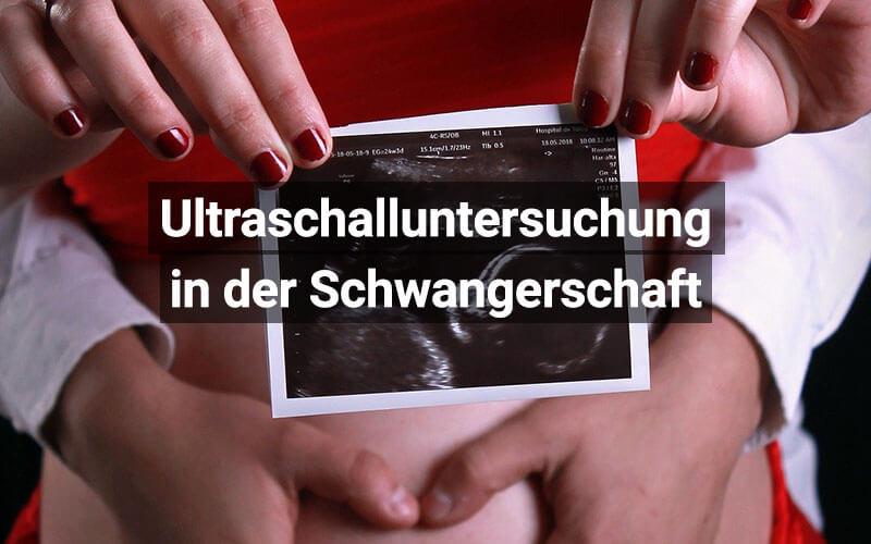 Ultraschalluntersuchung Schwangerschaft