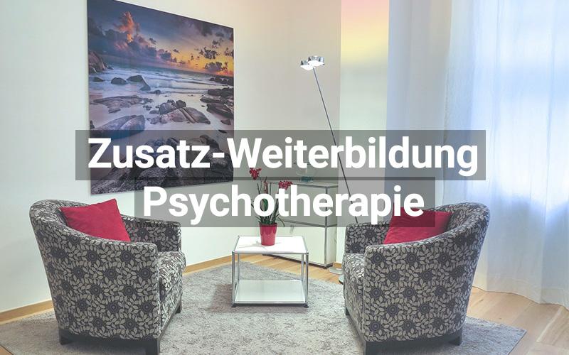 Zusatz Weiterbildung Psychotherapie