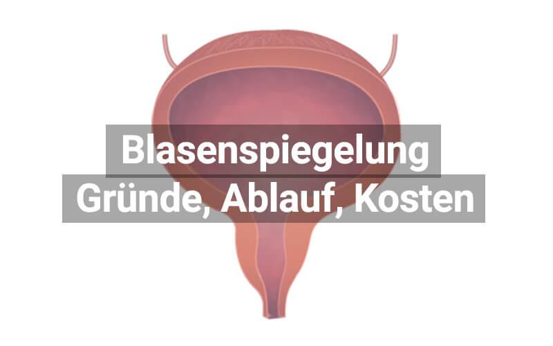 Blasenspiegelung Zytoskopie
