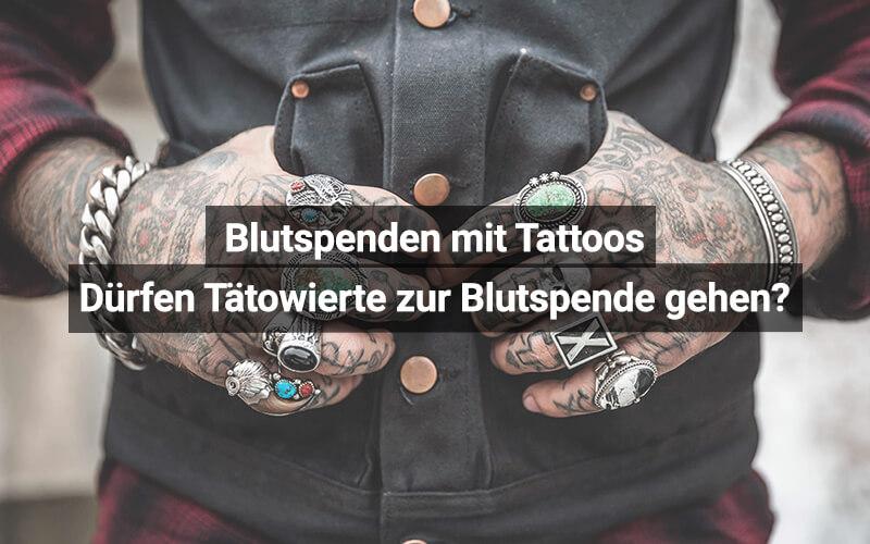 Blutspende Tabu Für Tattoos