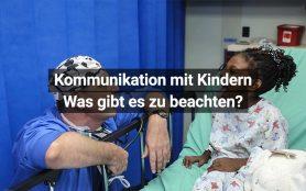 Kommunikation Kinder Arzt