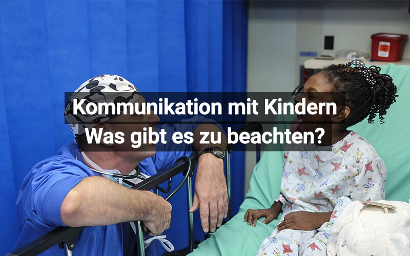 Kommunikation Kinder Arzt