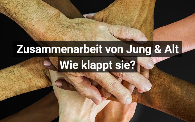 Zusammenarbeit Mit älteren Mitarbeitern