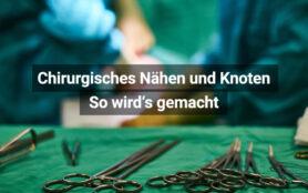 Knoten Und Nahttechniken