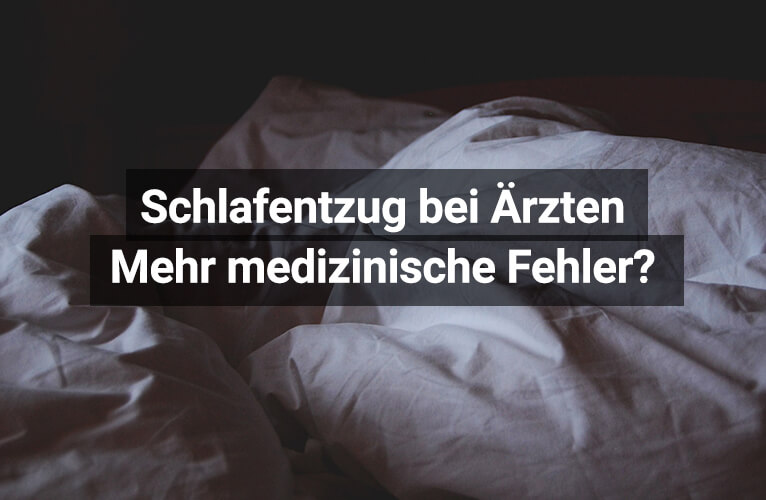 Studie Schlafentzug Ärzte Fehler