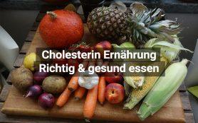 Cholesterin Ernährung