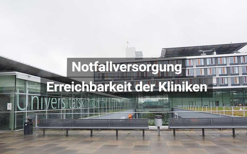 Notfallversorgung Krankenhäuser Deutschland