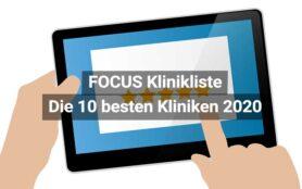 Focus Beste Kliniken 2020