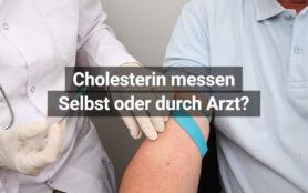 Cholesterin Messen