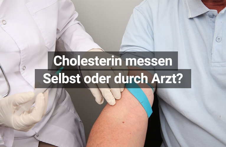 Cholesterin Messen