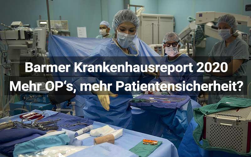 Barmer Krankenhausreport 2020