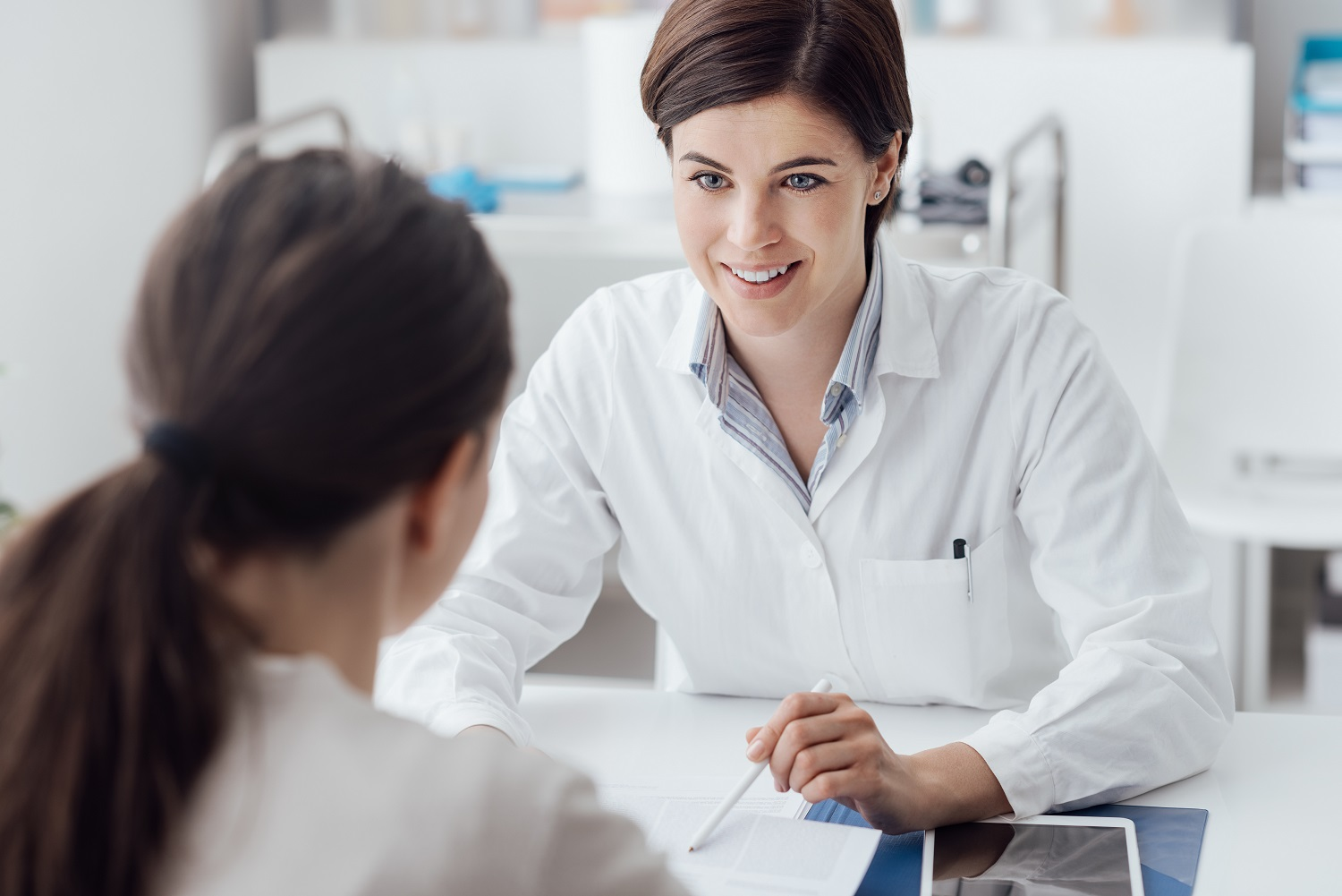 Doctor Explaining Diagnosis To The Patient