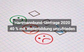 Hartmannbund Umfrage Weiterbildung