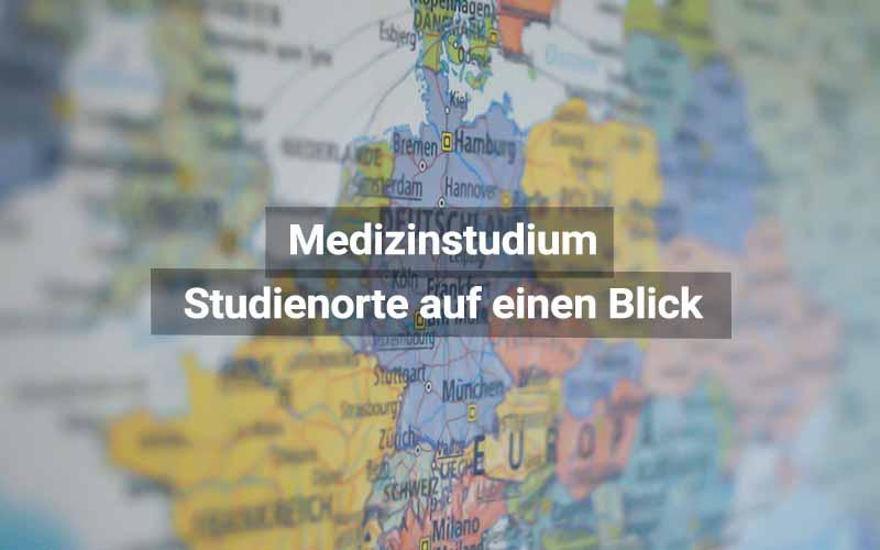 Medizinstudium Studienorte