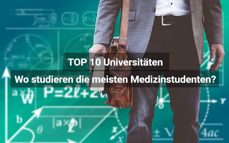 TOP 10 Größte Universitäten Für Medizin