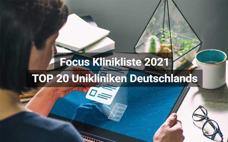 Focus Beste Kliniken 2021