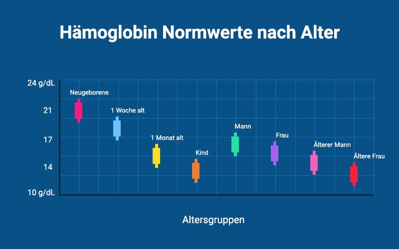 Hämoglobin Normwerte