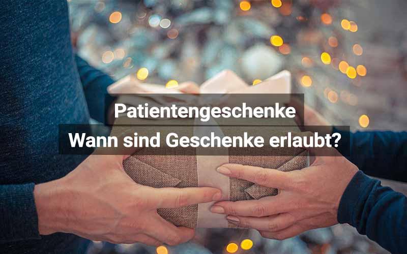 Patienten Geschenke Annehmen Erlaubt