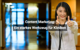 Content Marketing In Kliniken