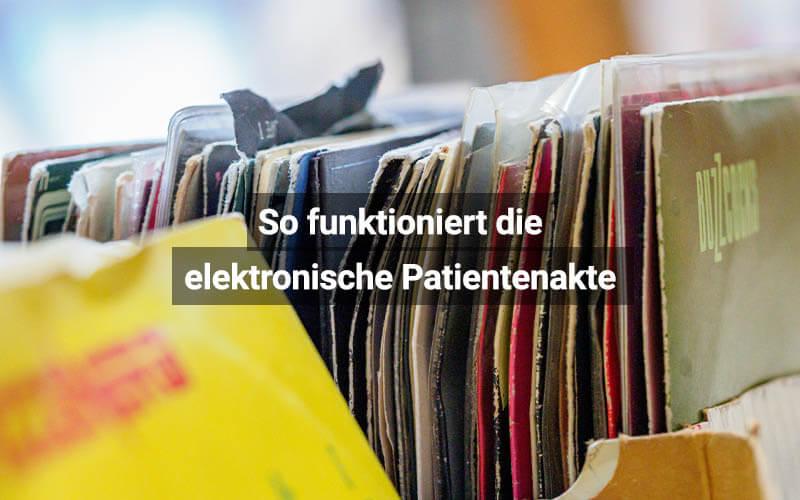 So Funktioniert Die Elektronische Patientenakte (ePA)