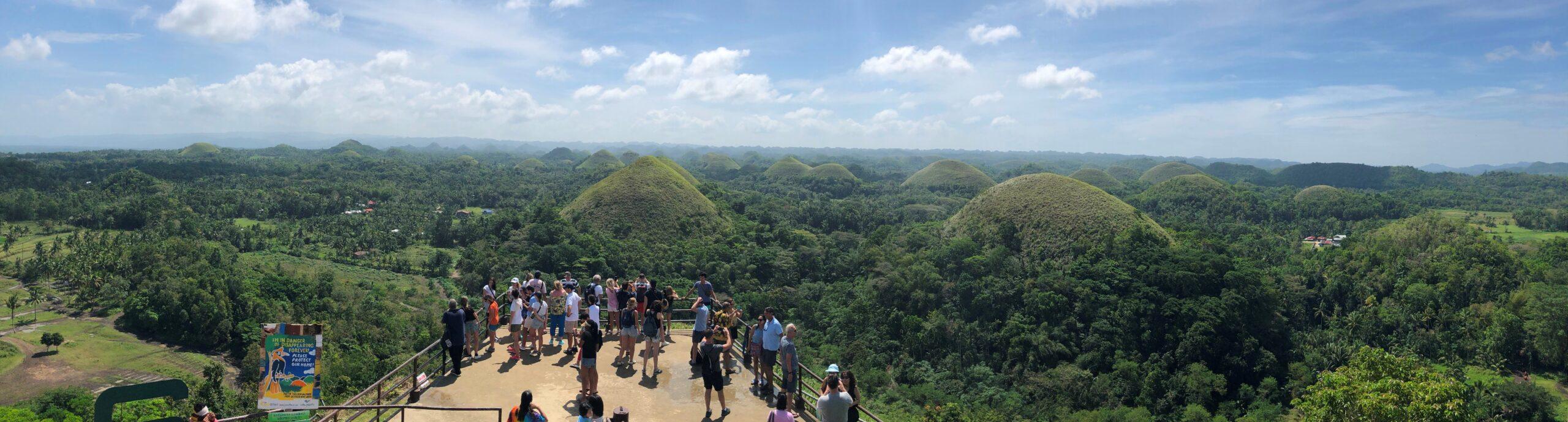 Chocolate Hills 2020 Panorama