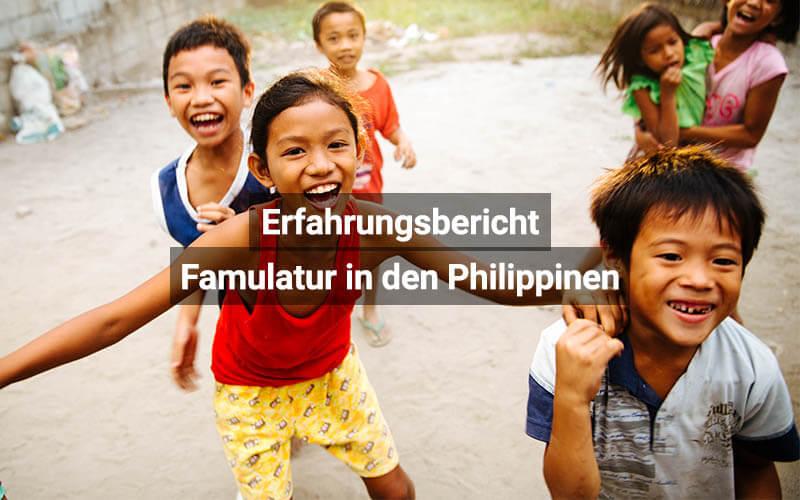 Famulatur In Den Philipinen