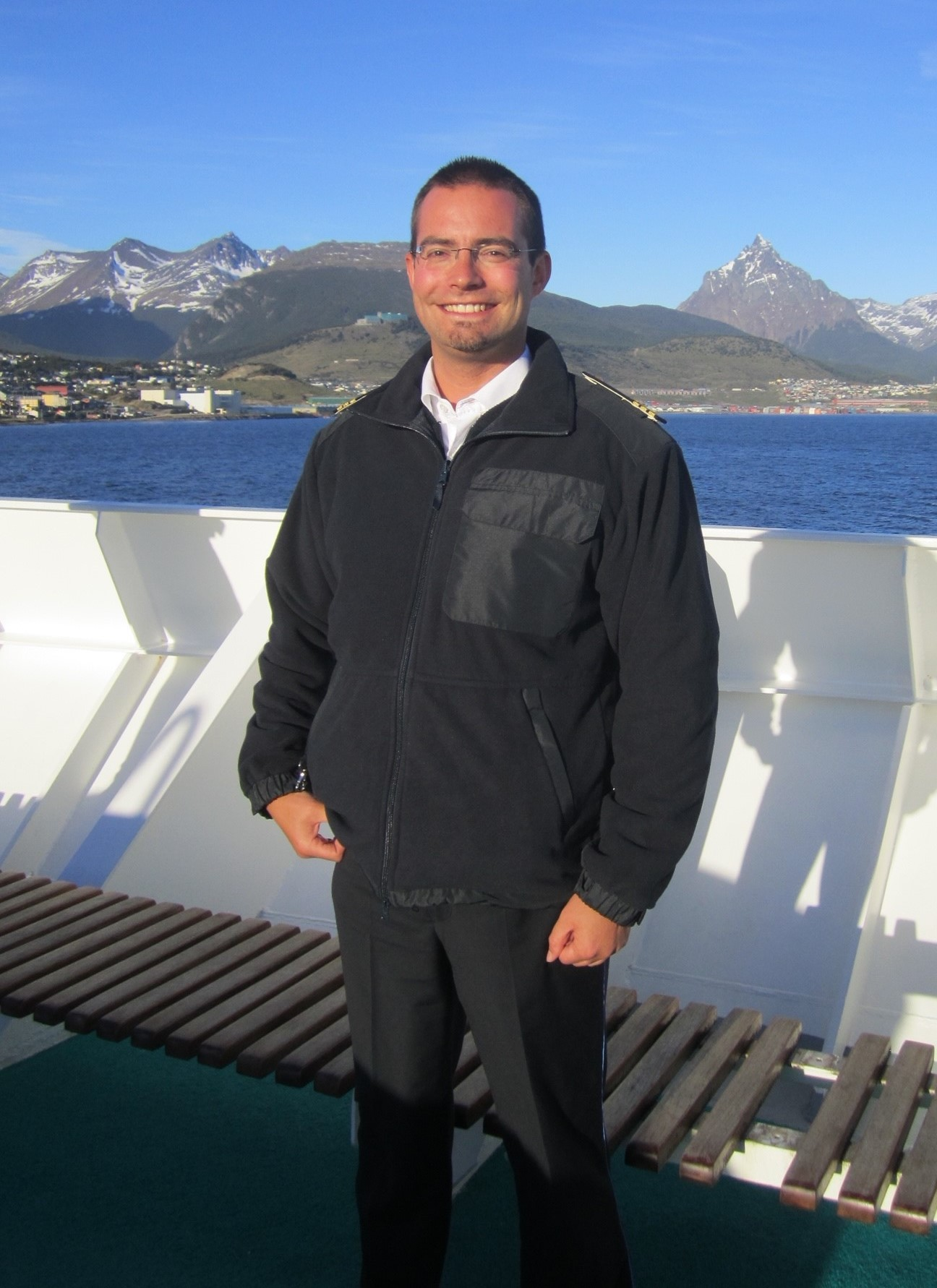 Schiffsarzt Dr. med. Eike Beyer