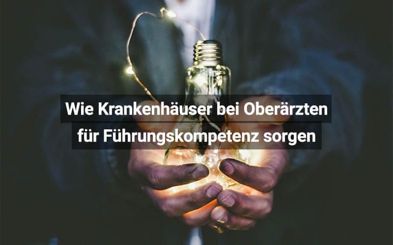 Führungskompetenz Bei Oberärzten