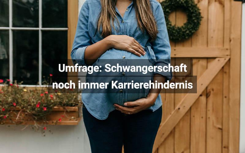 Schwangerschaft Karrierehindernis
